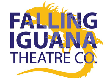 Falling Iguana Theatre Company logo