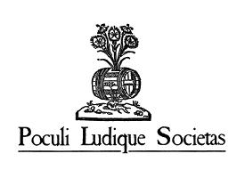 Poculi Ludique Societas logo