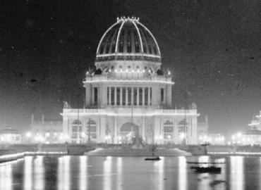 The 1893 Worlds Columbian Exposition Electricity Building