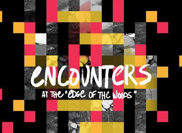 "Encounters at the ""Edge of the Woods"" graphic"