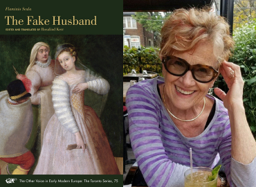 The Fake Husband book and Rosalind Kerr