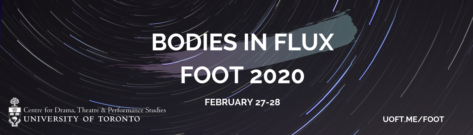 Bodies in Flux FOOT 2020 conference banner