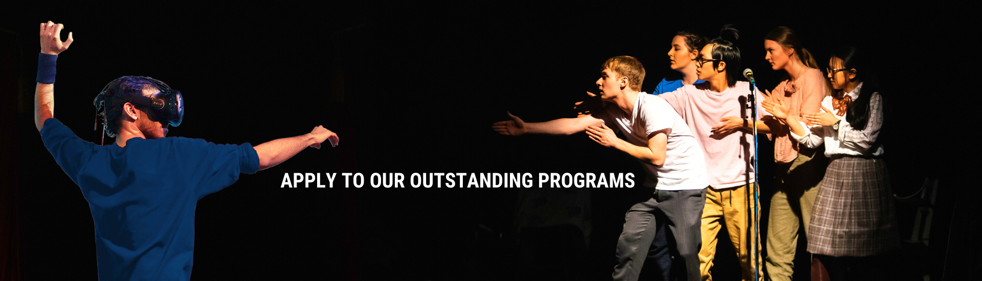 Apply to our outstanding programs