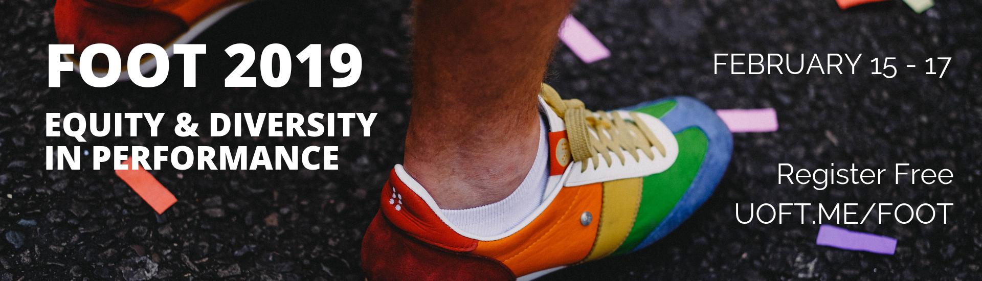 FOOT 2019 branded homepage banner